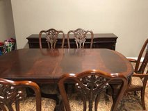 Unique dining room table and buffet EUC in Naperville, Illinois
