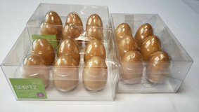 18 WOOD PAINTABLE EGGS * 3 sets of 6 in Naperville, Illinois