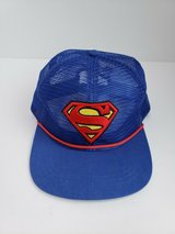 NWT SUPERMAN SNAP BACK HAT  * FROM SIX FLAGS in Naperville, Illinois