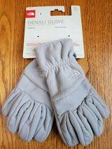 (NEW)THE NORTH FACE DENALI GLOVE * SIZE SMALL * WOMEN'S * METALLIC SILVER in Westmont, Illinois