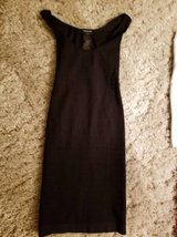Bebe black stretchy dress with back cut-out design in Camp Pendleton, California