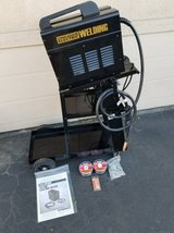 Chicago Electric Flux 125 Welder with helmet, cart,wire and tips in Camp Pendleton, California