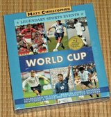 NEW World Cup Legendary Sports Events 3 Disc CD Audiobook Unabridged  Age 8-11 Grade 3rd-7th in Oswego, Illinois