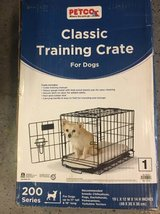Dog training crate in Westmont, Illinois