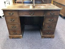 Vintage Double Pedestal Desk in Chicago, Illinois
