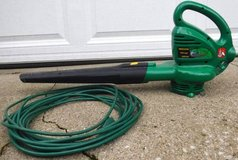 Weed Eater Elite Web150 Electric Leaf Blower + Ext Cord in Westmont, Illinois