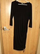 New York & Company Stretch Long Sleeve Black Dress (T=18) in Fort Campbell, Kentucky