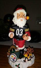pittsburgh steelers santa claus bobblehead - legends of the field in Fort Campbell, Kentucky