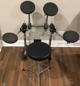 Gibraltar GP08 Powerrack Practice Drum Pad Set On Frame Rack Outfit in Naperville, Illinois