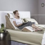 Avana Kind Bed Orthopedic Support Pillow Comfort System Bamboo Cover in Naperville, Illinois