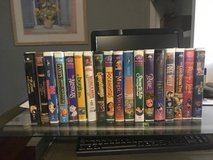 18 Children's VHS Tapes in Plainfield, Illinois