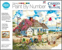 New! Root Beer Break At The Butterfields Paint By Numbers Kit 20x16in in Joliet, Illinois