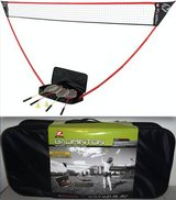 New! Zume Portable Badminton Set ~ Freestanding Base Sets Up Anywhere in Joliet, Illinois