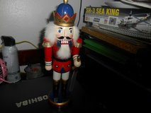 "12"" Wood Nutcracker Royalty with Sword in Bellaire, Texas"