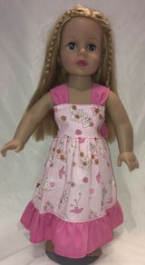 "Handmade pink hello kitty dress fits american girl 18"" Dolls in Yucca Valley, California"