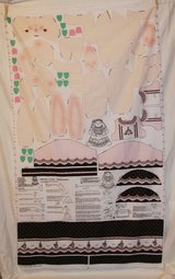 daisy kingdom veronica louise bunny fabric craft panel in Yucca Valley, California