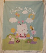 hello kitty lady bug spring time fabric craft panel in 29 Palms, California