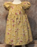 beautiful roses handmade dress with bloomers size 12m in Yucca Valley, California