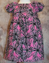 pink with black swirls handmade dress with bloomers size 18m in Yucca Valley, California