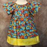 adorable fishy handmade dress with bloomers size 6m in Yucca Valley, California