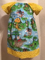 mother goose nursery rhymes handmade dress with bloomers size 24m in Yucca Valley, California