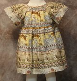 all aboard the ark handmade dress with bloomers size 6m in Yucca Valley, California