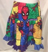 handmade the amazing spider man twirl skirt size 5 in Yucca Valley, California