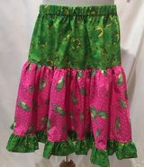 handmade frog lovers pink & green twirl skirt size 6 in Yucca Valley, California