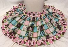 handmade adorable pink owls twirl skirt size 2t in Yucca Valley, California