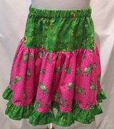 handmade frog lovers pink & green twirl skirt size 5 in Yucca Valley, California