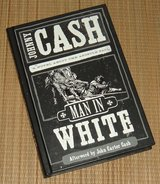 Man in White Johnny Cash A Novel About The Apostle Paul Hard Cover Book in Joliet, Illinois