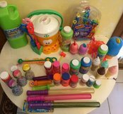 Got Bubbles? Huge lot of bubble play toys and solution in Naperville, Illinois