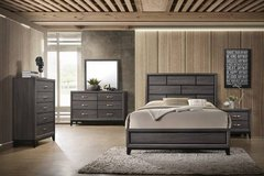 New! Modern Gray Queen Bed Frame FREE DELIVERY start in Miramar, California