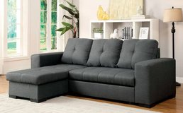New!  Grey Pull out  Sofa Bed  FREE DELIVERY in Miramar, California