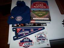 cubs nation : 162 games. 162 stories. 1 addiction  xmas package in Plainfield, Illinois