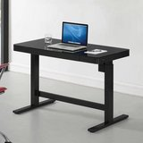 Office desk black computer table Tresanti Adjustable Height Desk in Chicago, Illinois