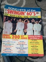 1973 copy of Swingin' 60's Song Hits Lyrics in Chicago, Illinois