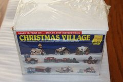 New Sealed ACCENTS UNLIMITED  Christmas Village TOYLAND #21613 in Spring, Texas