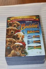 Disney DVD Lot of 4 Air Buddies, Snow Buddies, Santa Buddies, & Space in Spring, Texas