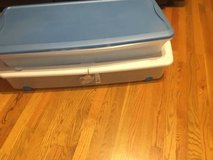 Under bed storage or Christmas roll wrap in Orland Park, Illinois