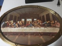 Vintage Last Supper portrait in Orland Park, Illinois