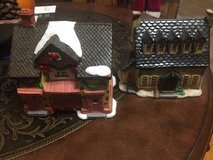 Lot of 2 Xmas village in Orland Park, Illinois