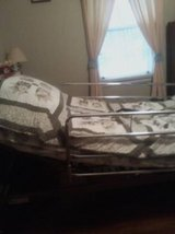 Electric bed with siderails in Columbia, South Carolina