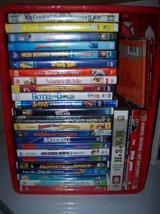 DVD and Cd Lot in Plainfield, Illinois