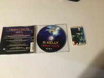 r. kelly - i believe i can fly - cd - single +jive superstars series 1 card in Plainfield, Illinois