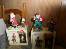 2 international santa claus collection (Italy + Iceland) figurines & ornaments in Bellaire, Texas