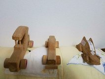 3 homemade pine wood cars! in Spring, Texas