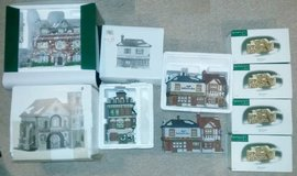 6 Department 56 Houses and Accessories in Bolingbrook, Illinois