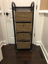 4 Fabric drawer rolling storage cart in Fort Campbell, Kentucky