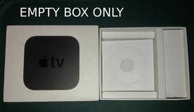 Empty Box Apple TV 4K 4th Generation A1842 in St. Charles, Illinois